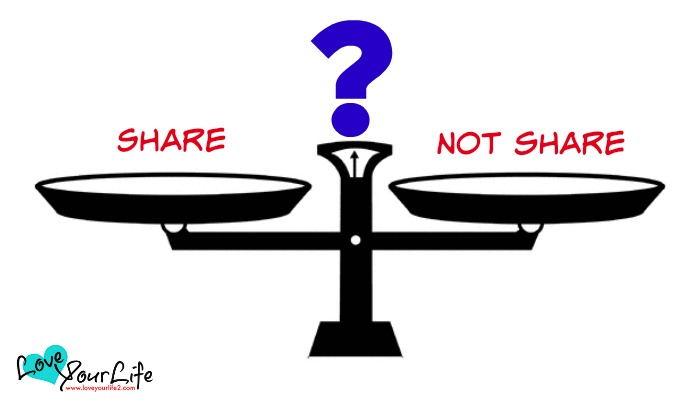 To Share or Not to Share, That is the Question