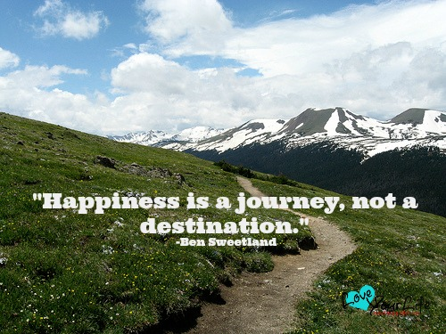 Happiness is Not Found at the Top of a Mountain